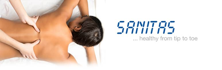 Sanitas beauty and massage products