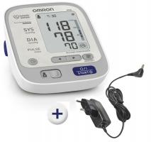 OMRON M500 Upper Arm Blood Pressure Monitor Onpack with Power Supply