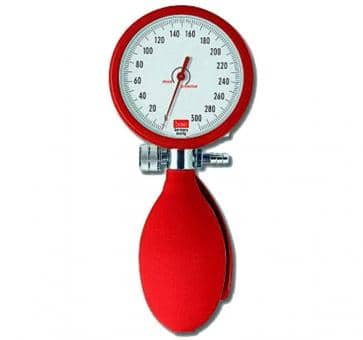 boso clinicus II Mechanical Blood Pressure Device red