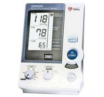 Return OMRON HEM 907 Upper Arm Blood Pressure Monitor