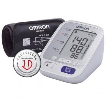 Return OMRON M400 (HEM-7134-D) with Intelli Wrap Cuff Upper Arm Blo