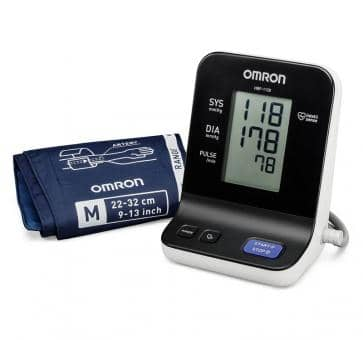 OMRON HBP-1120 (HBP-1120-E) Upper Arm Blood Pressure Monitor