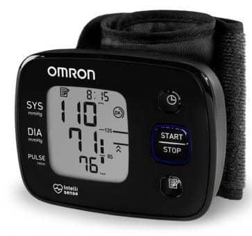 OMRON HG5 Precision Wrist Blood Pressure Monitor (HEM-6150-D)