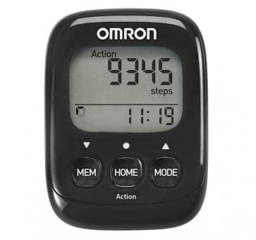 Return OMRON Walking Style IV Activity Monitor black (HJ-325