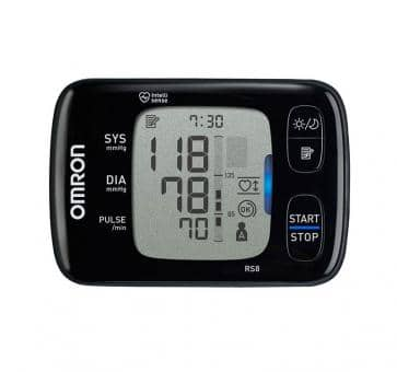 Return OMRON RS8 (HEM-6310F-E) Wrist Blood Pressure Monitor