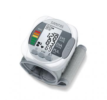 sanitas wrist blood pressure monitor instructions