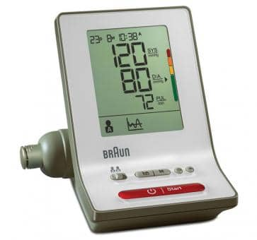 Return Braun ExactFit 3 Upper Arm Blood Pressure Monitor BP6000