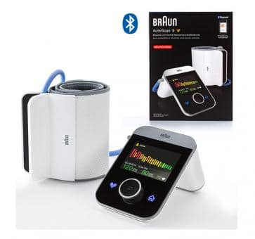 Return Braun ActivScan TM 9 Upper Arm Blood Pressure Monitor
