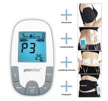 prorelax 85835 TENS + EMS Super Duo Plus