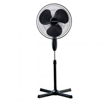 Honeywell Comfort Control Stand Fan Black