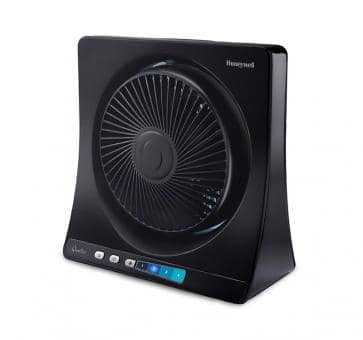 Honeywell QuietSet table fan black