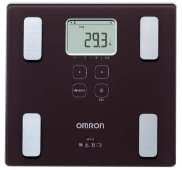 OMRON BF214 Body Composition Monitor (HBF-212-EBW)