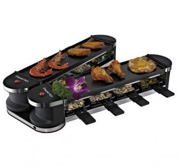 Return Suntec RAC-8151 Flex 8 metal-metal Raclette-Set
