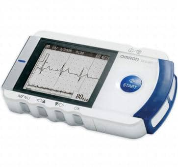 OMRON HCG-801E Portable Single Channel ECG
