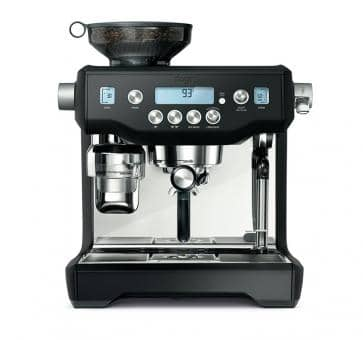 Sage the Oracle Espresso machine matt black