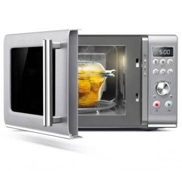 Sage the Compact Wave microwave silver