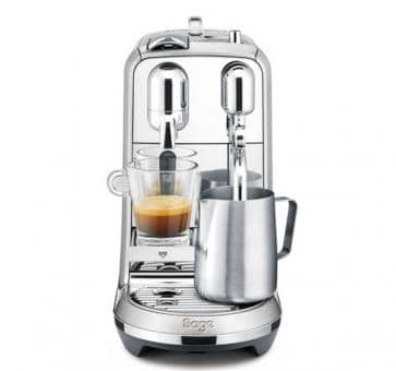 Sage The Creatista Plus Nespresso Machine Brushed Aluminum