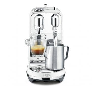 Sage The Creatista Plus Nespresso Machine White