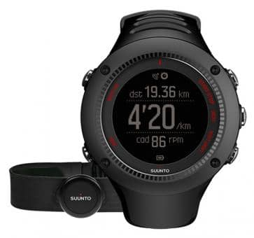 Return Suunto Ambit3 Run Black HR Wrist Computer