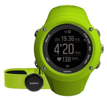 Suunto Ambit3 Run Lime HR Wrist Computer