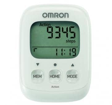 OMRON Walking Style IV Step Counter white