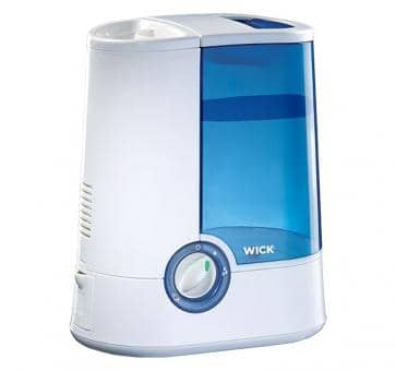 Wick warm air humidifier white-blue